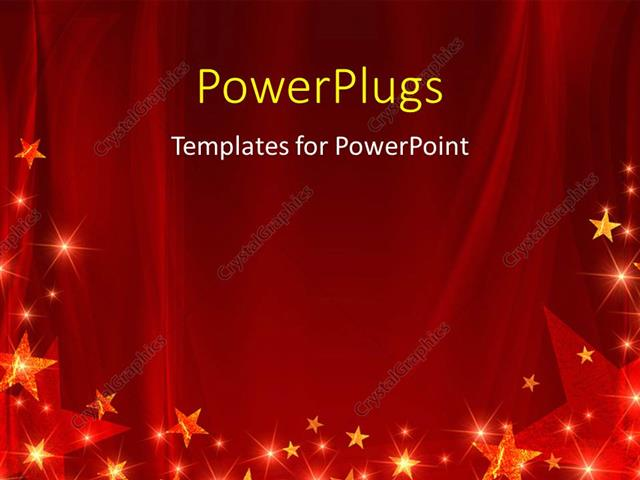 Powerpoint template red celebration background with glowing stars powerpoint template displaying red celebration background with glowing stars and sparkles toneelgroepblik Images