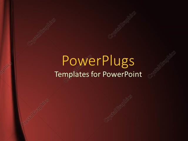Powerpoint template red velvet background fading to black curtains powerpoint template displaying red velvet background fading to black curtains white text toneelgroepblik Choice Image