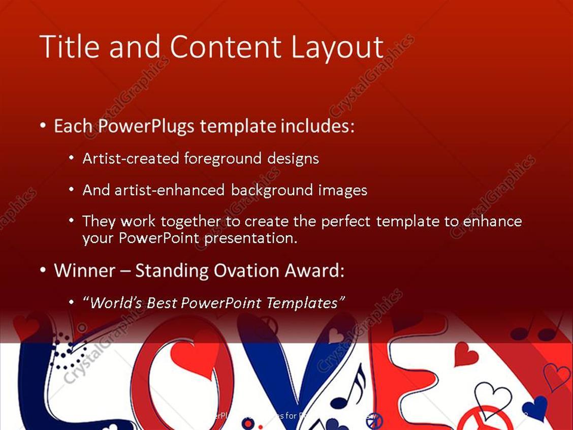 Red white and blue powerpoint template akbaeenw red toneelgroepblik Gallery