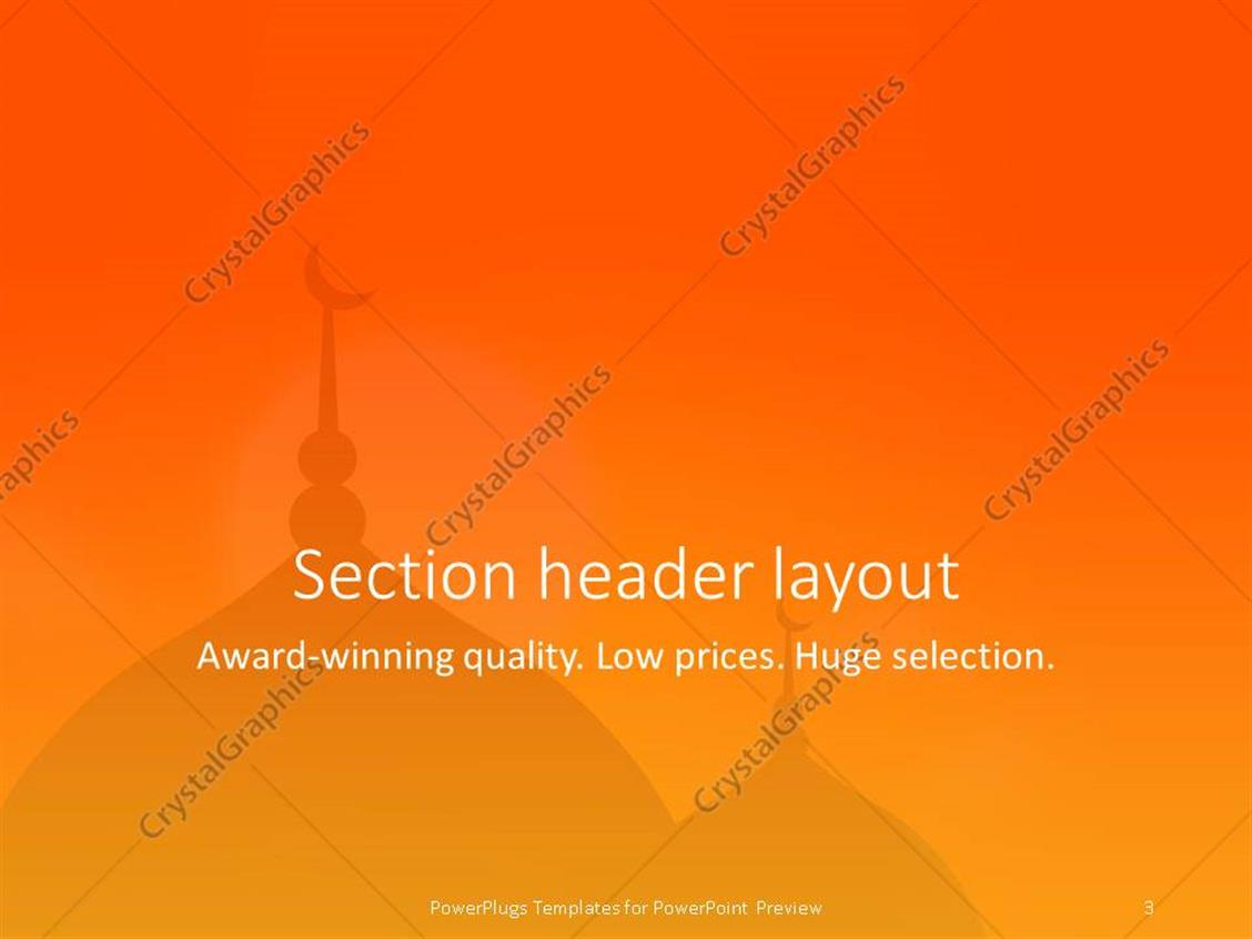 Powerpoint template religious mosque silhouette during sunset powerpoint products templates secure alramifo Choice Image