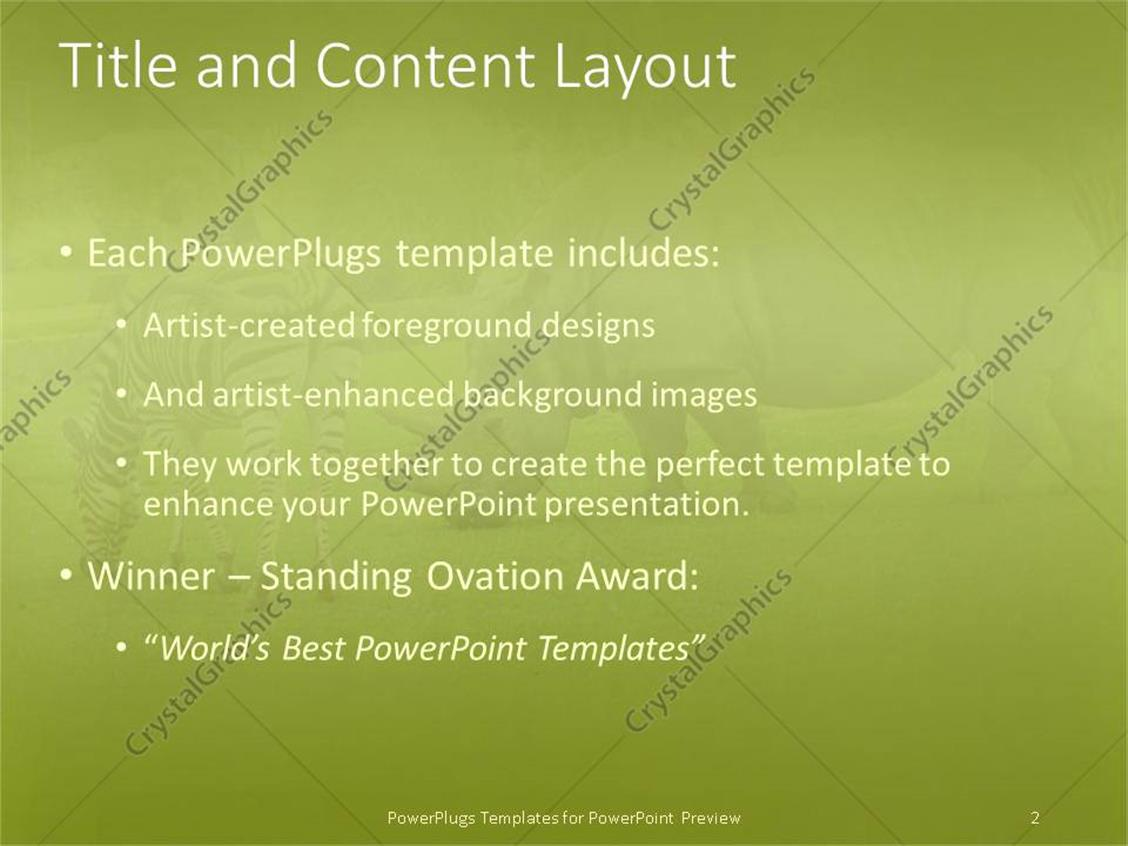 Powerpoint template a rhino along with a zebra 1762 powerpoint products templates secure toneelgroepblik Image collections