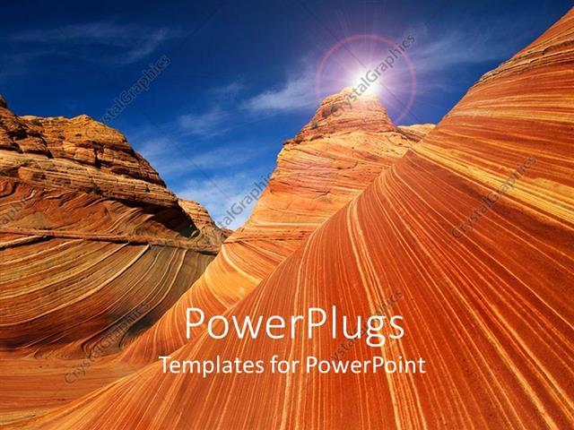 Powerpoint template rocks desert canyon utah usa 29474 powerpoint template displaying rocks desert canyon utah usa toneelgroepblik Choice Image