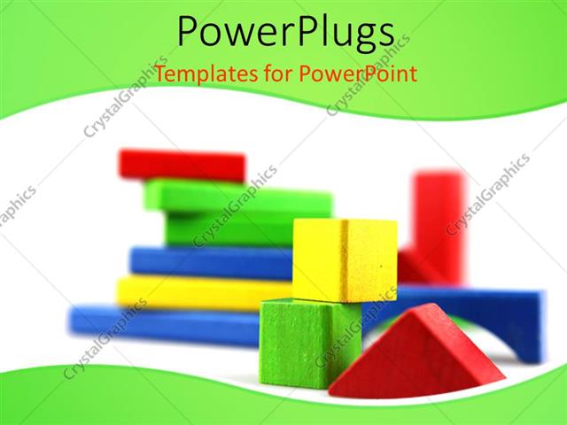 Powerpoint template scenery of 3d geometric shapes arranged on powerpoint template displaying scenery of 3d geometric shapes arranged on white background toneelgroepblik