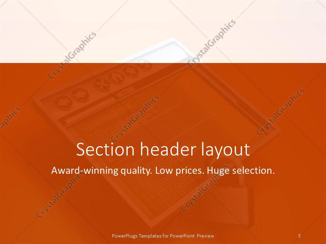 Orange powerpoint template images templates example free download information security powerpoint template gallery templates powerpoint template a screen which is locked and orange powerpoint alramifo Image collections