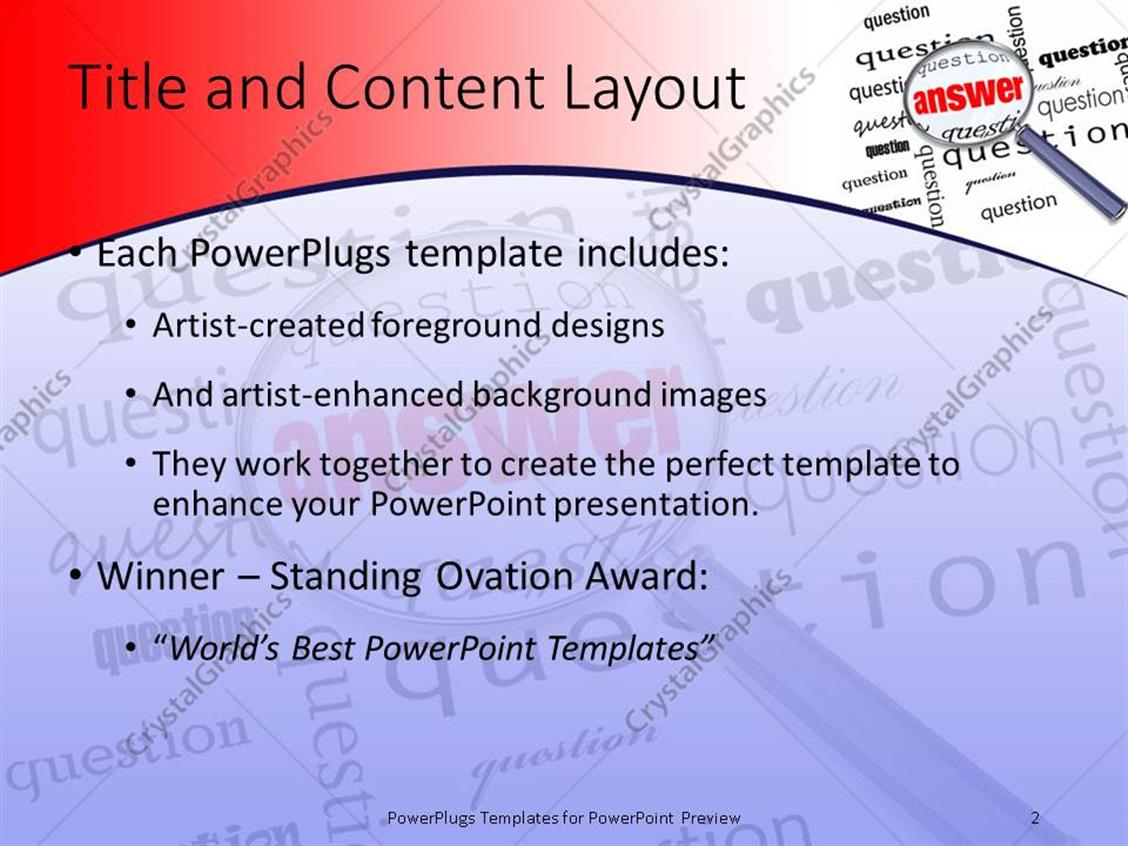 Powerpoint template search glass looking for answer amidst powerpoint products templates secure alramifo Choice Image
