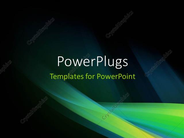 Powerpoint Template A Short Video Showing An Abstract Of Some