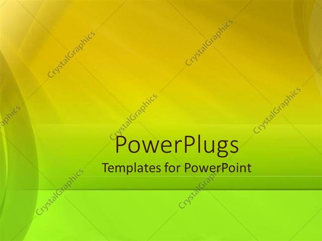 powerpoint template simple bold background with curbed bands and