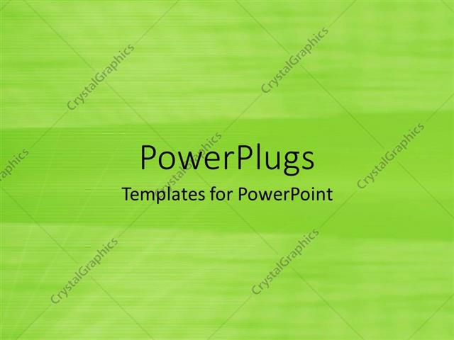 Powerpoint Template A Simple Green Background With Place For Text 287