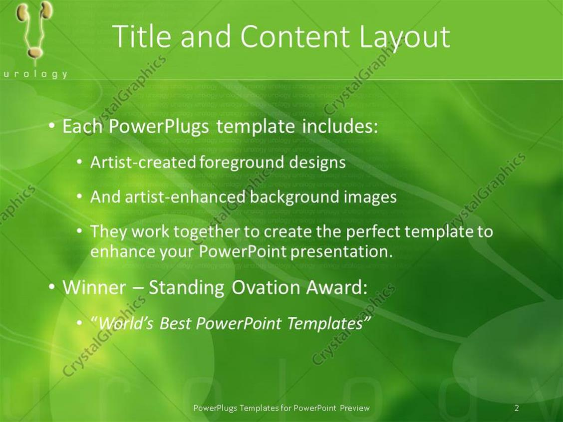 Powerpoint template small visualization of urinary tract with powerpoint products templates secure toneelgroepblik Image collections