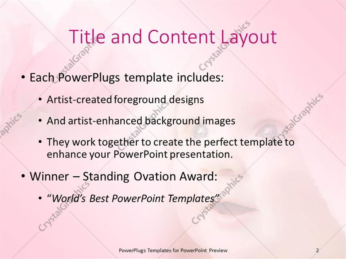 Powerpoint template smiling baby face covered in bath towel with powerpoint products templates secure toneelgroepblik Gallery