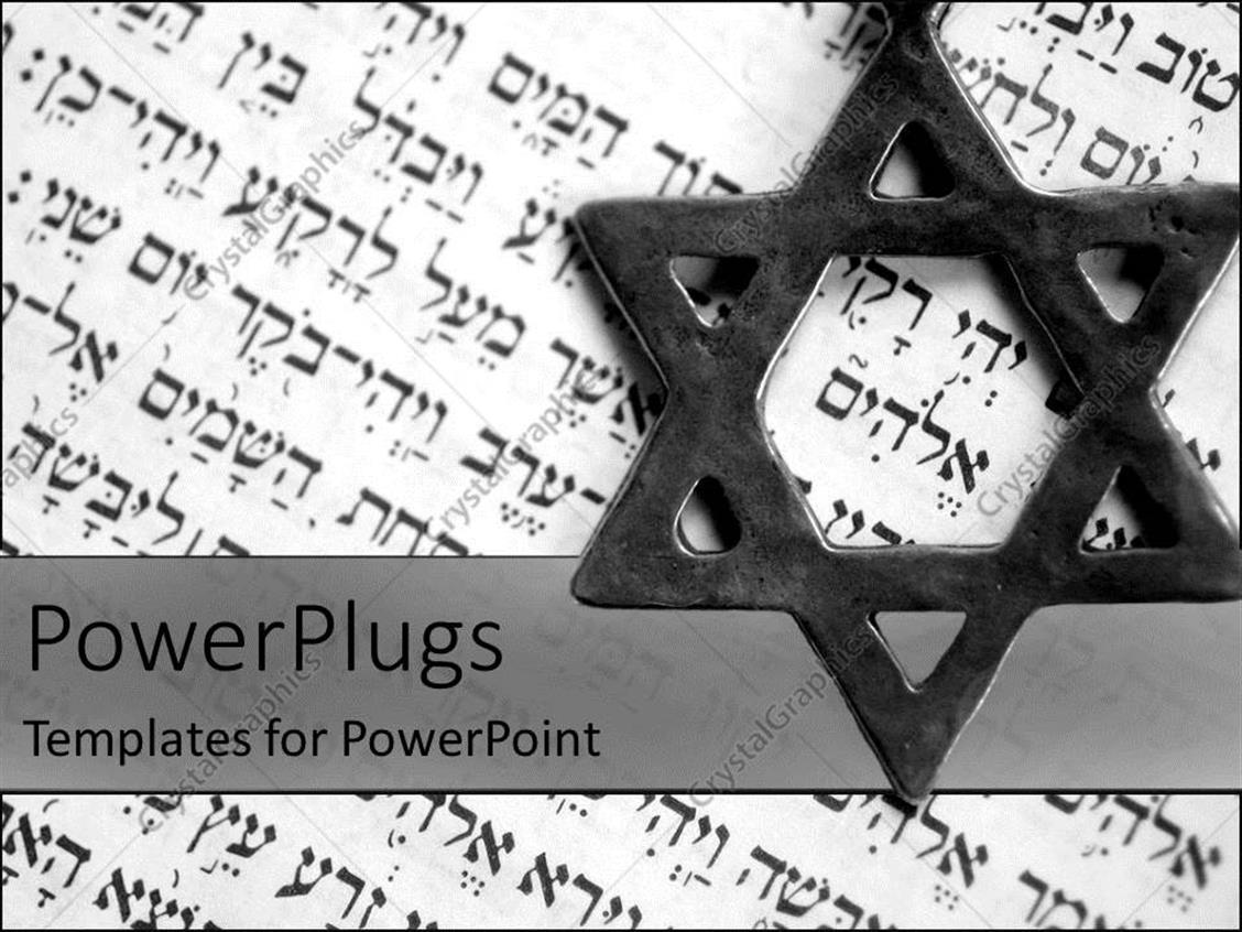 Fantastic jewish powerpoint templates ideas professional resume powerpoint template the star of david with old testament in the toneelgroepblik Choice Image