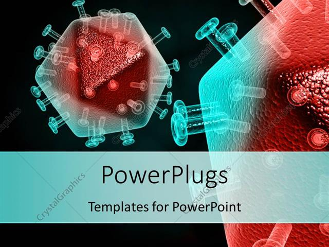 Powerpoint template tested sample of cells infected by hiv virus on powerpoint template displaying tested sample of cells infected by hiv virus on black surface toneelgroepblik Gallery