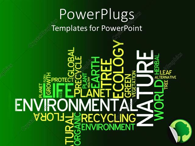 Powerpoint template text related to environment with a mixture of powerpoint template displaying text related to environment with a mixture of dark and light greenish toneelgroepblik Choice Image