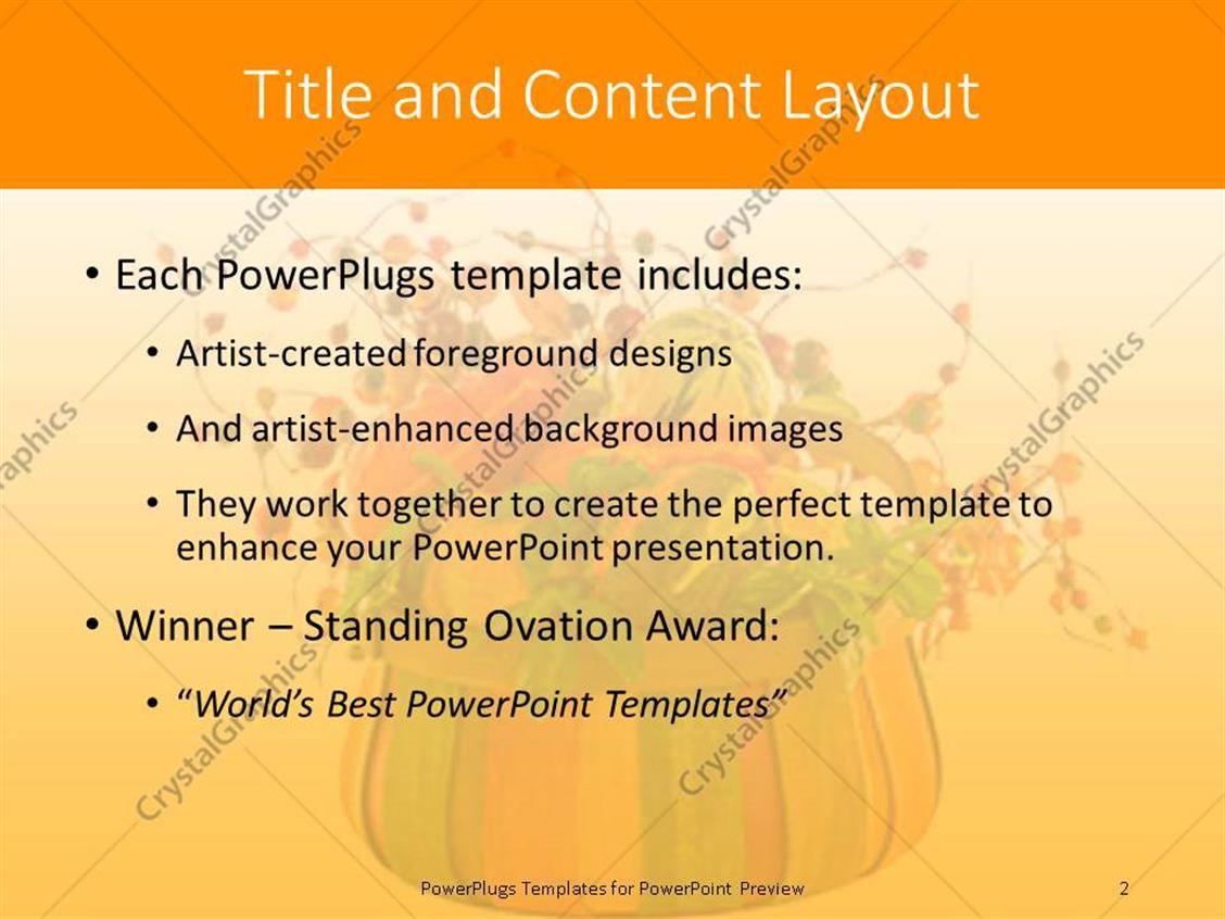 Powerpoint template thanksgiving theme with words give thanks powerpoint products templates secure toneelgroepblik Gallery