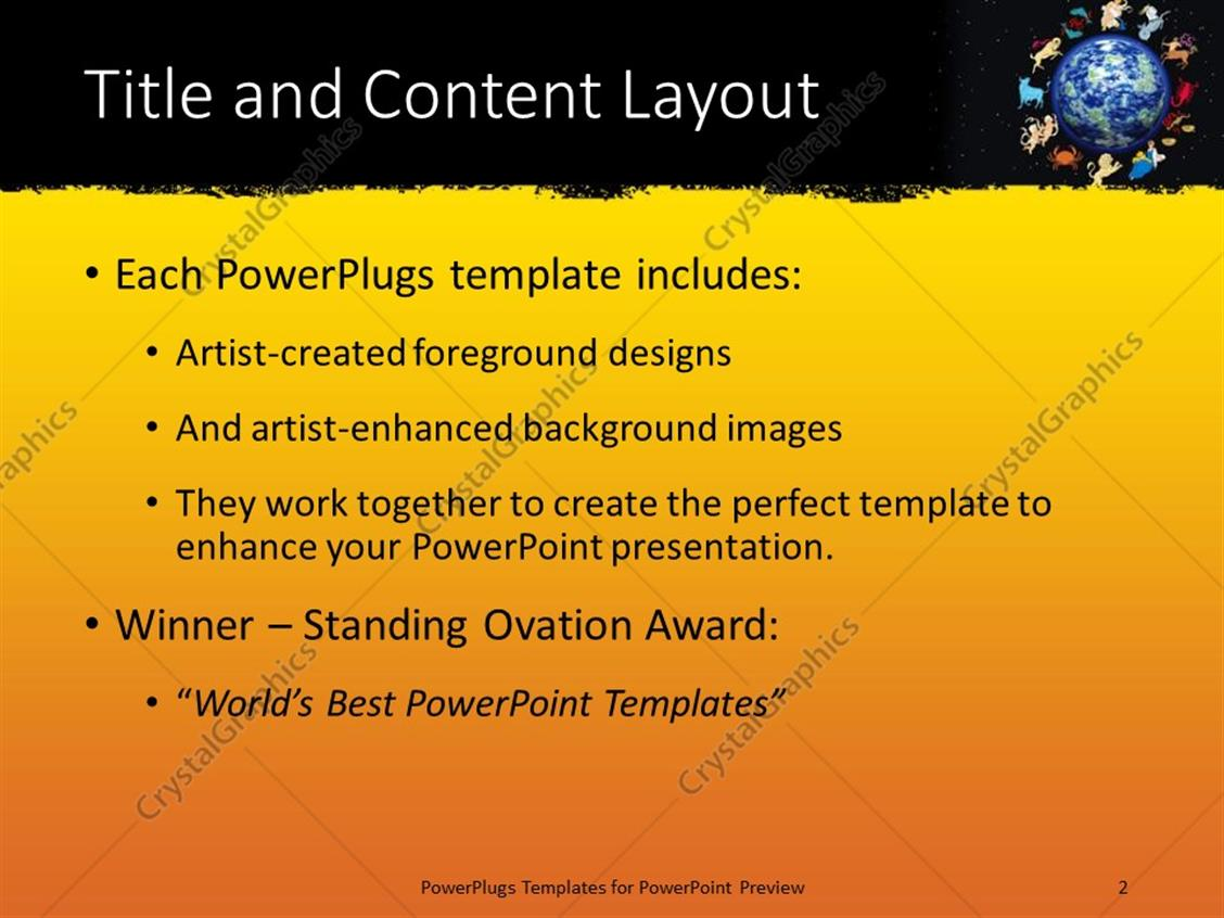 Powerpoint template twelve zodiac signs framing planet earth on powerpoint products templates secure toneelgroepblik Image collections