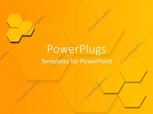 Powerpoint template two groups of three yellow hexagons 13465 powerpoint template displaying two groups of three yellow hexagons toneelgroepblik Gallery
