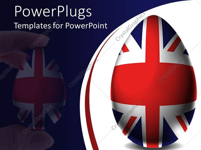 Powerpoint template uk easter egg union jack flag england powerpoint template displaying uk easter egg union jack flag england united kingdom toneelgroepblik Image collections