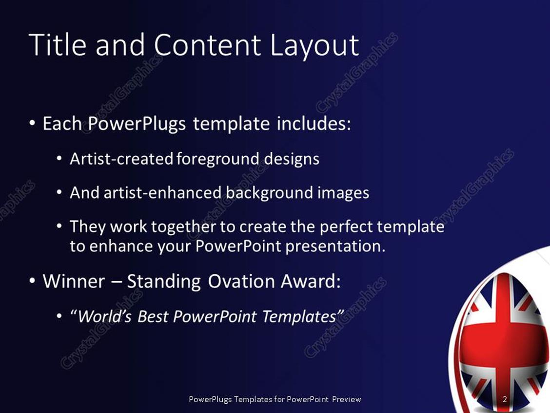 Powerpoint template uk easter egg union jack flag england powerpoint products templates secure toneelgroepblik Image collections
