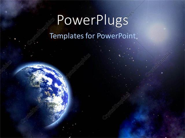 PowerPoint Template: the Universe (10238)