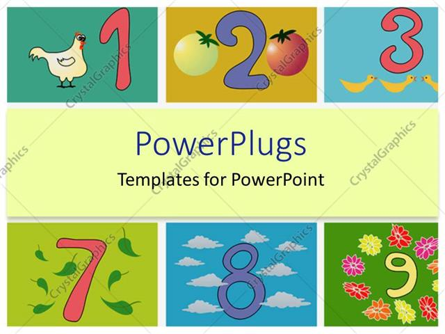 Powerpoint template whimsical numbers counting kindergarten powerpoint template displaying whimsical numbers counting kindergarten elementary education toneelgroepblik Choice Image