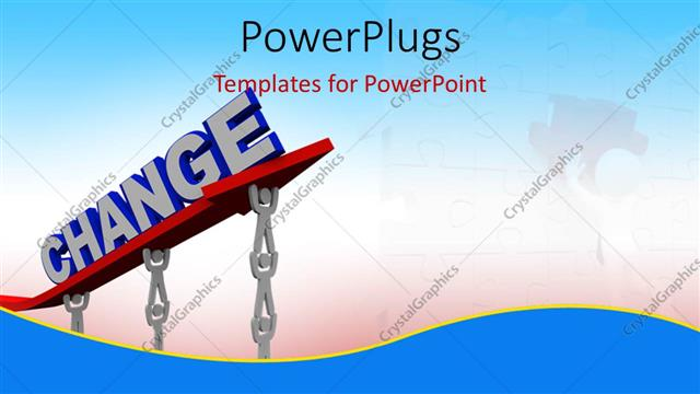 Powerpoint template teamwork depiction as 3d men work to lift 3d powerpoint template displaying teamwork depiction as 3d men work to lift 3d change sign toneelgroepblik Gallery