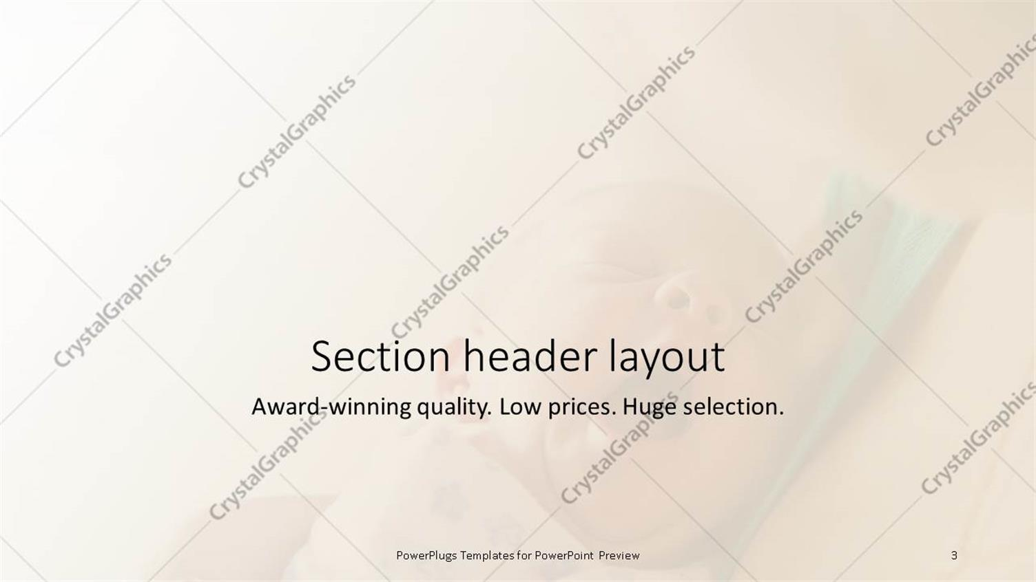 Powerpoint template yawning newborn baby held in mothers arms on powerpoint products templates secure alramifo Choice Image