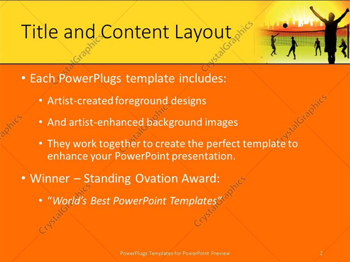 Powerpoint template youth playing volleyball in ground on nature powerpoint products templates secure toneelgroepblik Image collections