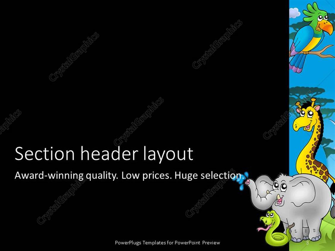 Best elephant powerpoint template images gallery free elephant powerpoint templates zoo free images powerpoint template and layout toneelgroepblik