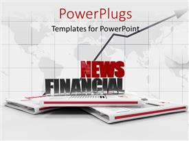 5000 journalist powerpoint templates w journalist themed backgrounds theme with 3d news papers with a text that spell out the words toneelgroepblik Image collections