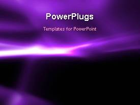 PPT theme enhanced with abstract animated background with light glow on purple surface