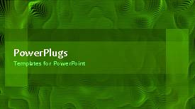 Elegant theme enhanced with abstract animation of spongy green background - widescreen format