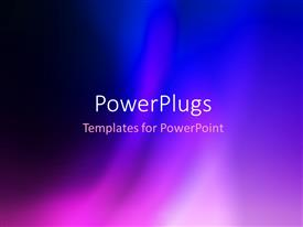 Amazing PPT layouts consisting of abstract beautiful blue and purple colorful blur background