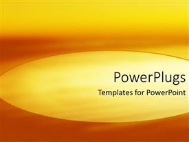 Elegant PPT theme enhanced with abstract depiction of different shades of an orange background