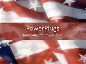 PPT layouts enhanced with american flag united states patriotism states strips country