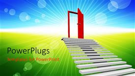 Royalty free PowerPlugs: PowerPoint template - StairsToTop_sb_38