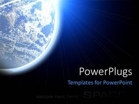5000 outer space powerpoint templates w outer space themed backgrounds beautiful theme with the view of earth from the space template size toneelgroepblik