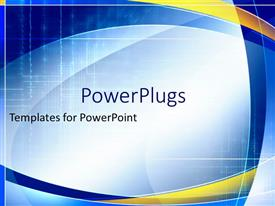 Blue And Yellow Powerpoint Templates W Blue And Yellow Themed Backgrounds