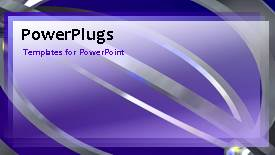 PPT theme enhanced with a bluish background with a number of lines - widescreen format