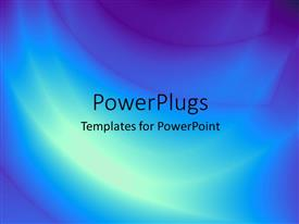 Colorful presentation theme having a bluish and purple background with place for text