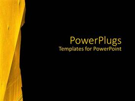 5000 Black Yellow Powerpoint Templates W Black Yellow Themed