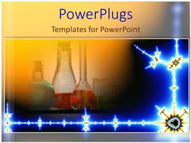 Elegant PPT layouts enhanced with chemistry lab science mad scientist chemicals drugs
