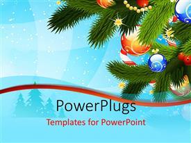 5000 Christmas Card Powerpoint Templates W Christmas Card Themed