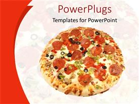 5000 pizza powerpoint templates w pizza themed backgrounds