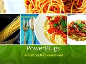 Italian food powerpoint templates crystalgraphics beautiful ppt theme with collage of italian spaghetti food series template size toneelgroepblik Choice Image