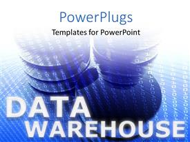 Colorful PPT layouts having data storage devices with series of binary codes