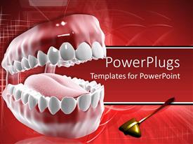 5000 dental caries powerpoint templates w dental caries themed audience pleasing ppt theme featuring dental care theme with mouth and teeth and tongue with dental template size toneelgroepblik Image collections