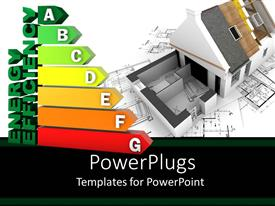 5000 energy powerpoint templates w energy themed backgrounds colorful presentation having the depiction of energy efficiency along with a house in the background toneelgroepblik Choice Image