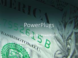 Amazing slide deck consisting of dollar bills finances money income profit economy currency politics