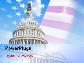 Elegant presentation design enhanced with a few seconds video of a colored abstract background