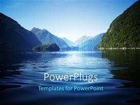 5000 new zealand powerpoint templates w new zealand themed backgrounds colorful presentation having fresh view over doubtful sound a fiord in new zealand toneelgroepblik Choice Image
